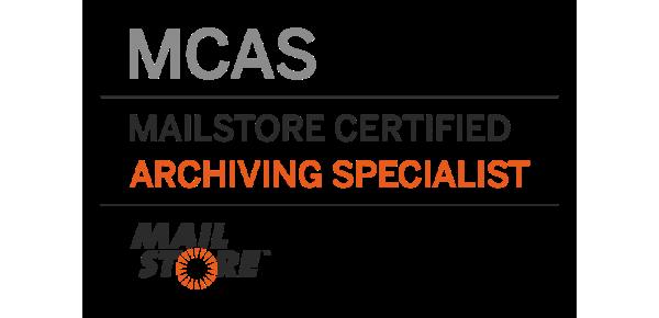 Mailstore certified