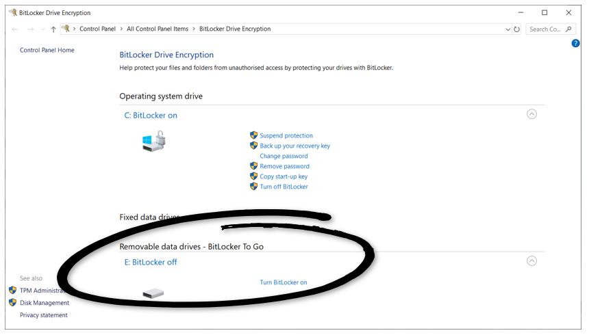 USB Disk Encryption For Windows   BitLocker   Encryption