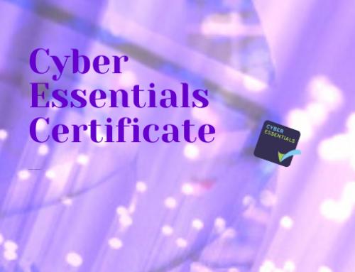 JC Designs Secure Cyber Essentials Certificate